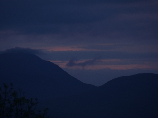 Snowdon Night ~ by Juanita Clarke