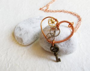 Steampunk Heart from JazzFeathers