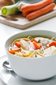 Chicken Soup ~ Image courtesy of tiramisustudio at FreeDigitalPhotos.net