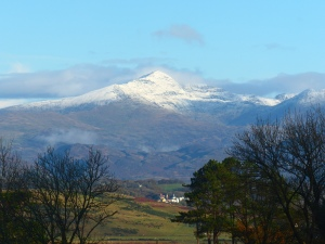 First Snow on Snowdon ~ Juanita Clarke