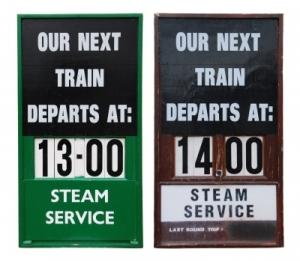 Vintage Train Placards ~ Image courtesy of artur84 at FreeDigitalPhotos.net
