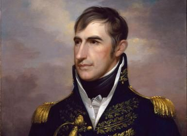 William Henry Harrison ~ National Portrait Gallery, Washington DC. ~ Photograph Source: Public Domain