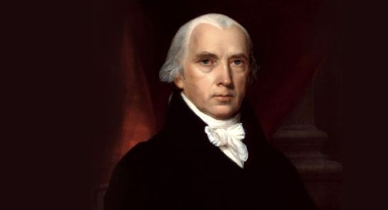 James Madison, 4th president of the United States (courtesy White House Historical Association)