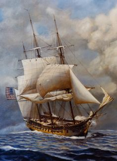 USS Constellation by John W. Schmidt