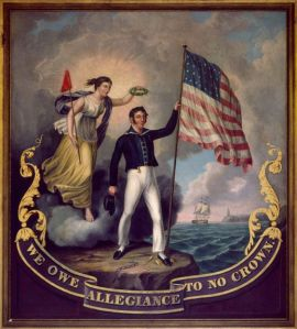We Owe Allegiance to No Crown, by John Archibald Woodside. c. 1814. Photograph copyright Nicholas S. West. Photography by Erik Arnesen.