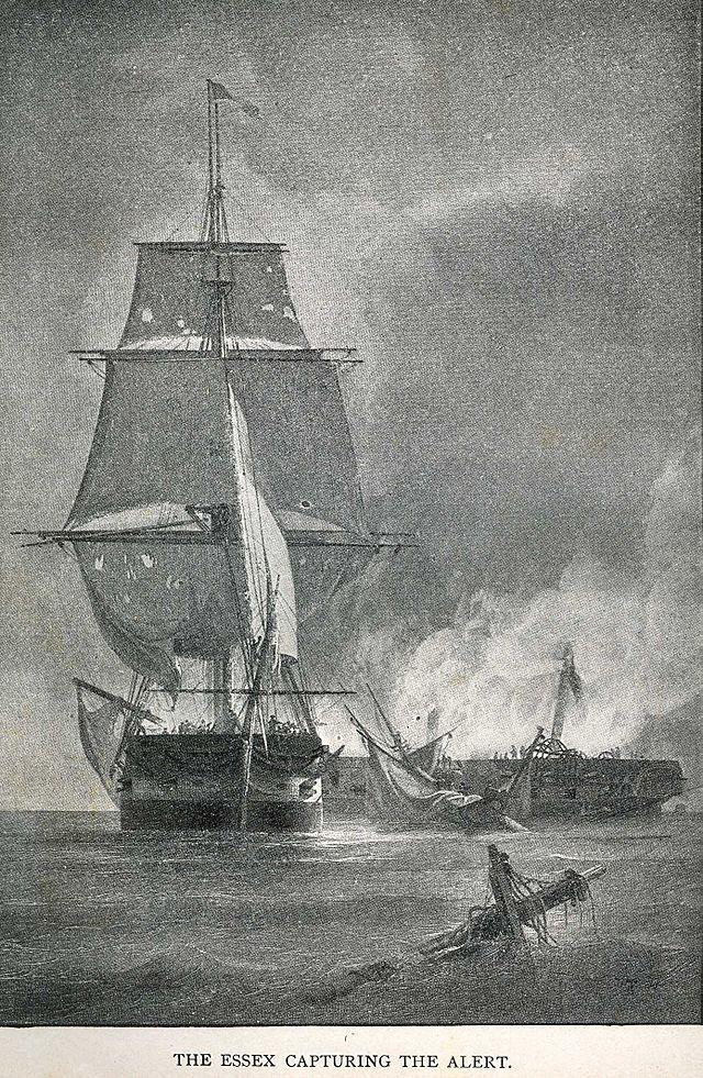 USS Essex capturing Alert. 13 August 1812 - Wikipedia, the free encyclopedia