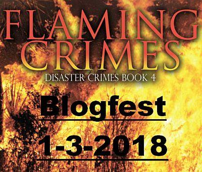 Flaming Crimes Blogfest Badge
