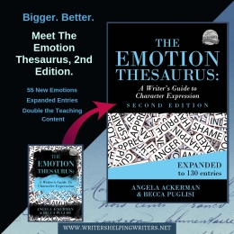 The Emotion Thesaurus (Second Edition) booklaunch